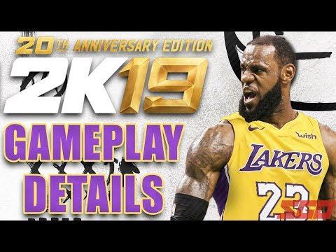 Gameplay de NBA 2K19 20th Anniversary Edition