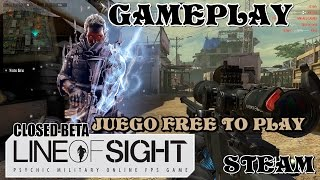 Line of sight/GAMEPLAY/ Free to play/STEAM/ 140FPS