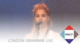 """Video thumbnail of """"London Grammar: Hey now / Darling are you gonna leave me / Wasting my young years"""""""