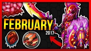 Knights and Dragons - SEASON 7, NEW INSANE CHROMATIC, FIRE DRAGON! February 2017 KnD Leaks/Datamine!