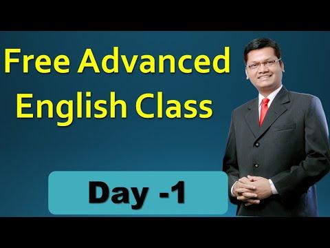 Day  1  | Free  advanced  spoken English class |