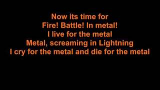 Dream Evil Fire Battle In Metal Lyrics