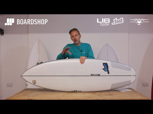 Lib Tech X Lost Puddle Jumper HP Surfboard Review