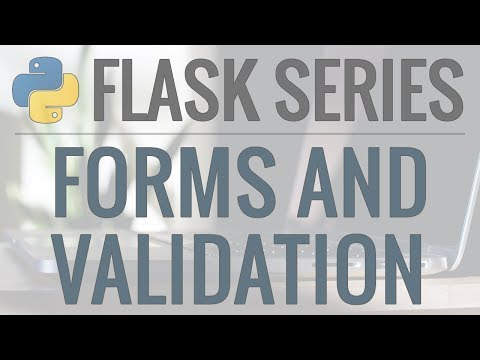 Python Flask Tutorial: Full-Featured Web App Part 3 - Forms and User