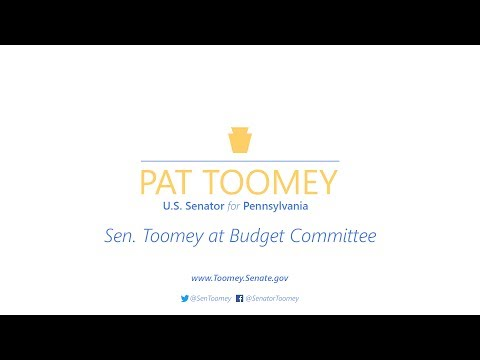 Senator Toomey and Secretary Mnuchin Discuss Tax Reform