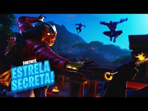 ESTRELA/ESTANDARTE DE BATALHA SECRETA SEMANA 6 TEMPORADA 8 DE FORTNITE