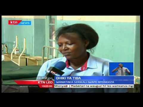 KTN Leo: Hope Akinyi apatwa na taswira katika hospitali kuu ya Kisumu baada yakutekelezwa na wazazi