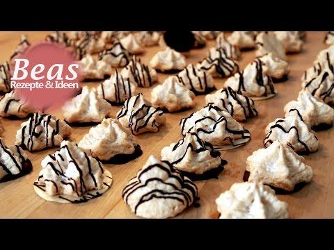 KOKOSMAKRONEN Rezept-Tipp | Weihnachtsbäckerei - Makronen backen