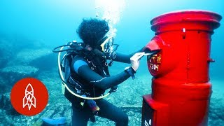 Download Youtube: Japan's Post Box Under the Sea