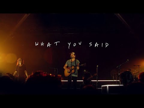What You Said - Youtube Live Worship