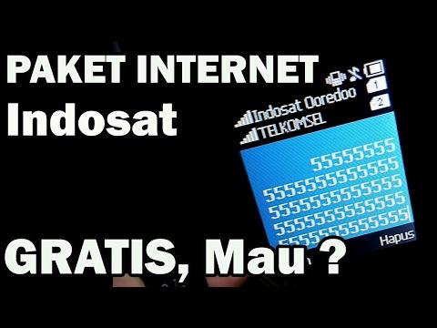 Video Cari Kode INTERNET GRATIS INDOSAT dan Akhirnya TAU, Senyum Dong :D