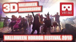 Halloween Horror Festival VR180 3D Scary Experience | Horror Show @ Movie Park Germany 2018