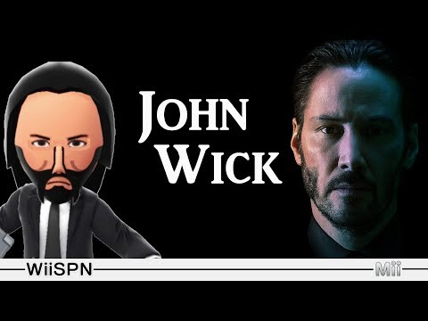 Mii Maker: How To Create John Wick!