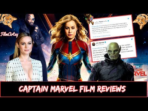 Captain Marvel Movie Reviews – Is it Good or Bad? Brie Larson 2019