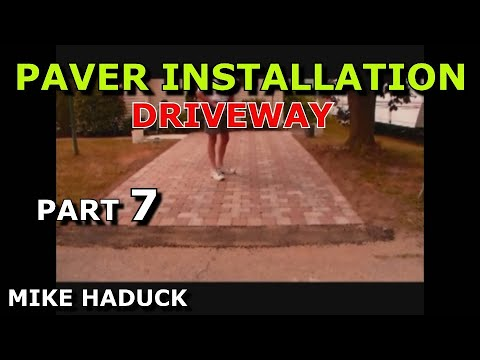 , title : 'How I Install a Paver Driveway - Mike Haduck'