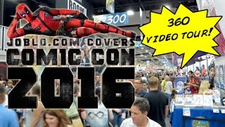 Convention Floor 360 Degree Video Tour! (San Diego Comic Con 2016)