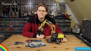 Review - LEGO® 42006 Technic - Raupenbagger - Mit Klauen und Ketten in den Sandkasten
