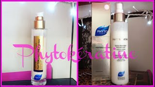 HOW TO USE PHYTOKERATINE EXTREME EXCEPTIONAL CREAM & REPAIRING THERMAL PROTECTANT SPRAY