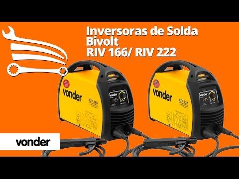 Retificador Inversor RIV222 200 Amperes Bivolt - Video