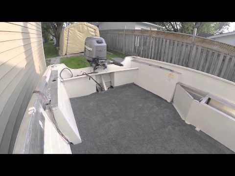 Re-carpeting Boat Floor – Aluminum Boat Project #4