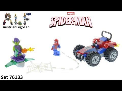 Vidéo LEGO Marvel Super Heroes 76133 : Spider-Man et la course poursuite en voiture
