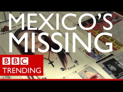 Finding Mexico's Missing Bodies - BBC Trending Visits Iguala