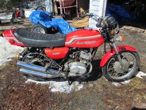 1972 Kawasaki S2 350 Triple H2 H1 - смотреть онлайн на Hah Life