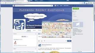 Facebook Secret Emoticons (Add-on)