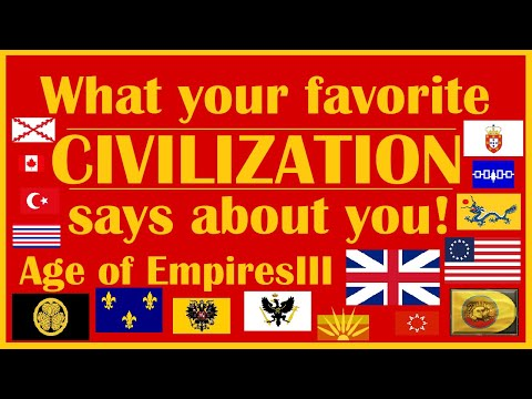 What your favorite CIVILIZATION says about you! Age of Empires III