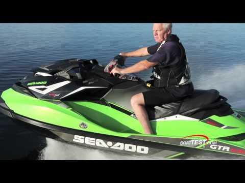 Sea-Doo GTR-X 230 (2017-) Test Video – By BoatTEST.com