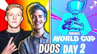 🔴LIVE: Fortnite World Cup Finals - WEEK 2 DUOS (QUALIFIERS) FT. Tfue, Ninja, Nick Eh 30