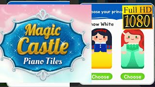 Magic Castle Piano Tiles: Free Rhythm Music Games