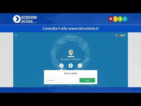 Iscrizioni online 2019/20 - 02 Come si presenta la domanda