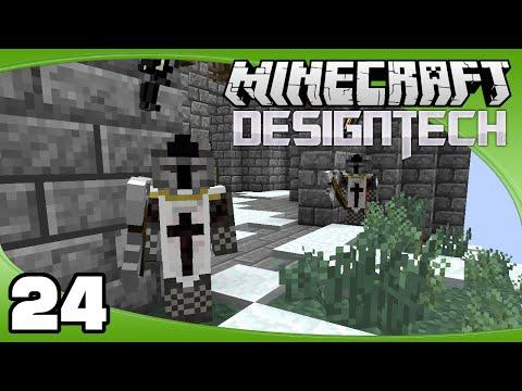 DesignTech - Ep. 24: Custom NPCs!   Minecraft Custom Modpack Let's Play