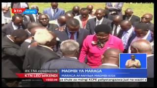 KTNLeo: Waziri wa Elimu DKT. Fred Matiangi ahudhuria maombi ya Jaji mkuu nchini David Maraga