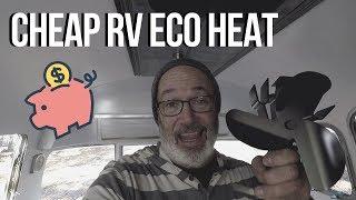 RV HEAT TOMERSUN HEAT POWERED STOVE FAN REVIEW / RV LIFF