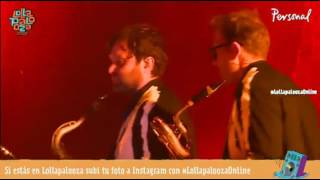 Arcade Fire - normal person - live Lollapalooza Argentina 2014