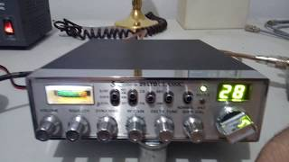 Cobra 139XLR 40 Channel CB Base Station - YouTube