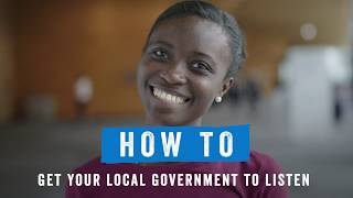 How to get your local government to listen