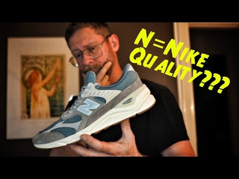 Nike Quality on New Balance? X90 Reconstructed Cyclone Marble Review & On Feet