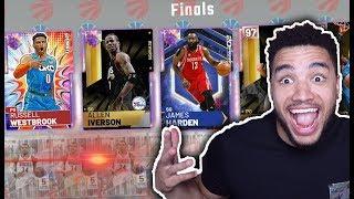 GALAXY OPAL WESTBROOK & HARDEN DRAFT!! NBA 2K DYNAMIC DUO
