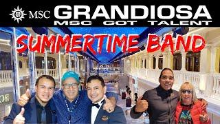 MSC GRANDIOSA & SUMMERTIME BAND