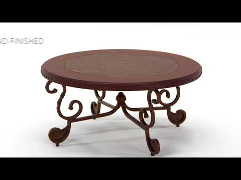 Rafferty T382-8 Round Cocktail Table