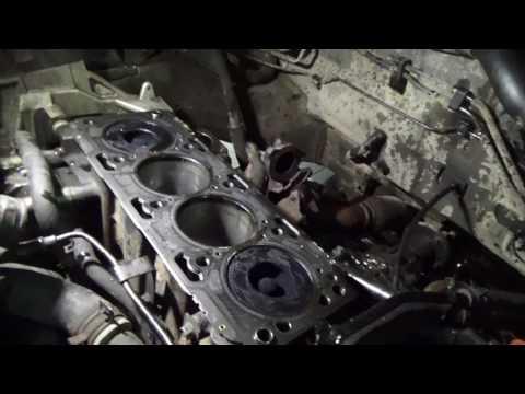 Задиры и стук в двигателе Hyundai Santa Fe на новой ГБЦ Ч.1