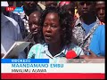 Wanawake Mombasa wamtetea Sonko, wamtaka Rais Kenyatta kumrejeshea walinzi wake