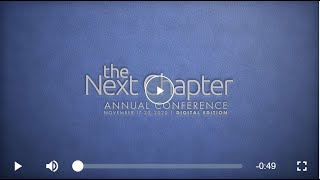 AEM 2020 Annual Conference: The Next Chapter, Digital Edition