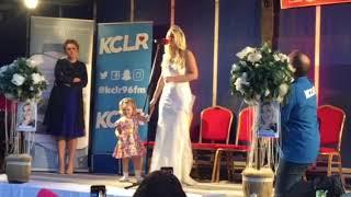 Shauna Ray Lacey sings Aslan's 'Crazy World'
