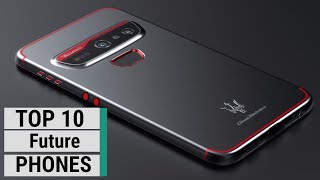 Top 10 Best Future Smartphone Concepts YOU NEED TO SEE (2021)