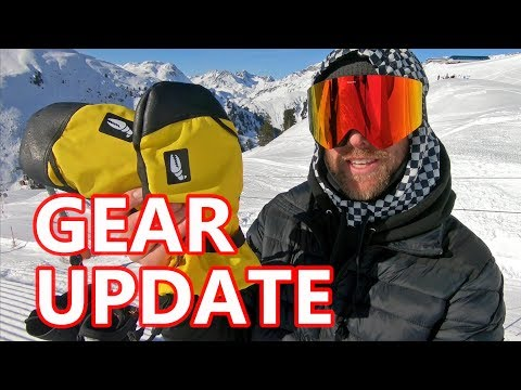 Snowboard Gear Update - Balaclava, Mid Layer, Boots, Pole, Mitts