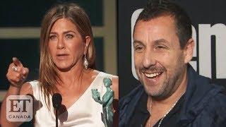 Adam Sandler Responds To Jennifer Aniston's Shout-Out At 2020 SAG Awards